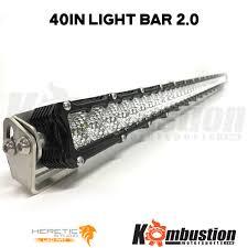 american made led light bar wraith 2 0 usa made billet led light bar 40 inch