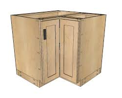how to make a corner cabinet ana white 36 corner base easy reach kitchen cabinet basic model