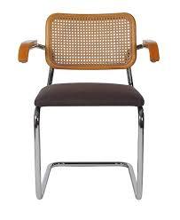 Dining Armchairs Mid Century Modern Set Of Four Marcel Breuer Cesca Cane Armchair