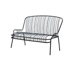 Modern Metal Garden Furniture Modern Metal Outdoor Sofa With Metal Frame Pe Rattan Furniture Pe