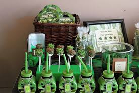 Camouflage Favors by Camo Birthday Ideas Definitely Did Not Skimp On