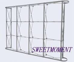 collapsible backdrop 3x3m 10 by 10 flower wall stand aluminum collapsible