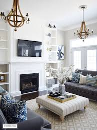 Best  Blue Living Rooms Ideas On Pinterest Dark Blue Walls - Living room decoration designs