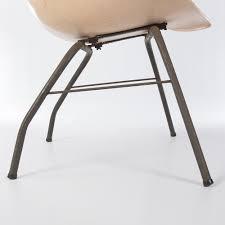 peach harry bertoia vintage knoll fiberglass diamond chair eames