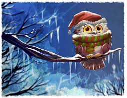 owl christmas owl by brett2dbean on deviantart