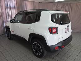 jeep renegade dashboard 2016 used jeep renegade 4wd 4dr trailhawk at north coast auto mall