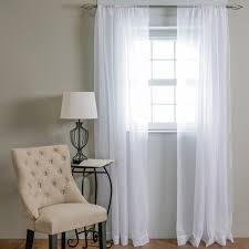 rod pocket sheer window panels 59