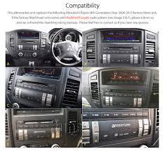 mitsubishi pajero 2006 car dvd player mitsubishi pajero 2006 2015 stereo head unit usb