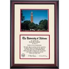 of alabama diploma frame alabama school color traditional diploma frame the of
