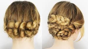 Hochsteckkurzhaarfrisuren Einfach by Hochsteckfrisuren Einfach Selber Machen Für Lange Und Mittel Haare