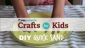 diy quicksand crafts for kids pbs parents youtube