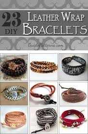 make wrap bracelet images 23 diy leather wrap bracelet patterns guide patterns jpg