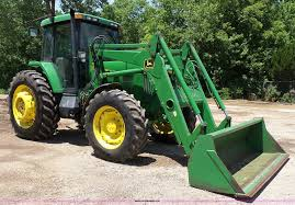 2001 john deere 7210 mfwd tractor item j4853 sold july
