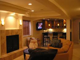 Basement Living Space Ideas Interior Admirable Basement Living Room Decor Ideas In Cream