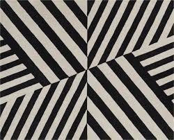 Modern Black And White Rug Modern Black And White Rugs Cb2