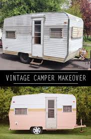 how to paint a vintage camper vintage campers how to paint and