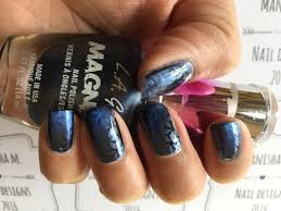 stamping with magnetic polish