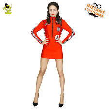 cool costumes women s racing driver costume women carnival party