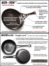 solidteknics founder mj henry with his favourite ausfonte cast iron and aus ion steel cookware jpg