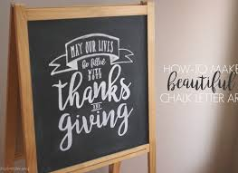 how to make beautiful chalk lettering simply real moms