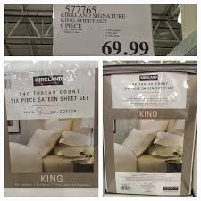 650 thread count sheets at target black friday hours the costco connoisseur kirkland signature by costco is lacking in