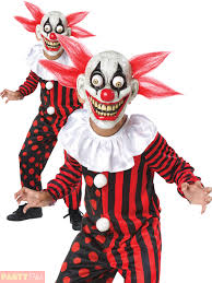 Kids Halloween Clown Costumes Child Scary Horror Clown Googly Eye Kids Halloween Fancy Dress