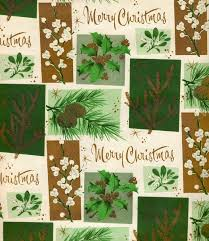 botanical wrapping paper 378 best vintage christmas wrapping paper images on
