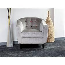 Button Back Armchair Vintage Style Purple Velvet Upholstered Button Back Bedroom Sofa