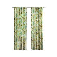 home decorators collection pear floral cottage back tab curtain