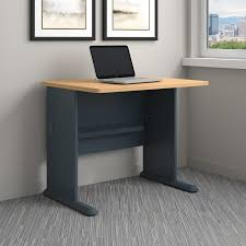 Computer On A Desk Bush Business Furniture Series A Desk Shell Reviews Wayfair