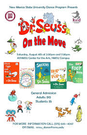 Nmsu Campus Map Dr Seuss On The Move Kinesiology U0026 Dance New Mexico State