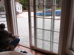 door inspiring back door design ideas with pella sliding doors