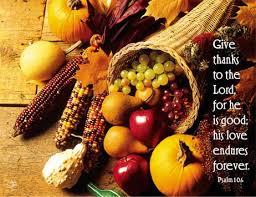 thanksgiving bulletins