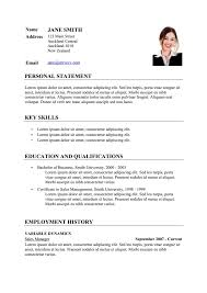 exle of cv resume how to write cv resume exle free resume template format