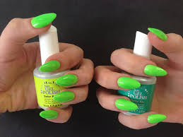 gel nail polish neon colors nails art ideas