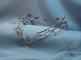 elven tiara diadem crown elven queen elf leaf circlet