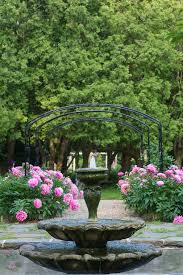 Artificial Peonies Winter Artificial Peonies Landscape Traditional With Gravel
