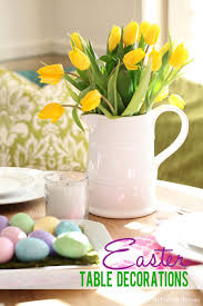 table decorations for easter make it easy easter table decorations my colortopia