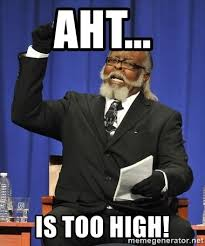 Is Too Damn High Meme Generator - aht is too high rent is too damn high meme generator
