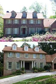 Before And After Home Exteriors by 21 Best Exovations Before And After Images On Pinterest Atlanta