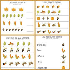 weekly printable pages round up fall worksheets printables and