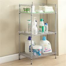 Bathroom Wire Rack 10f Diy 3 Tiers Corner Wire Lowes Bathroom Shelf For Shampoo