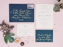 custom wedding invitation paperloveme calligraphy custom invitations
