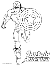 Free Printable Captain America Coloring Pages For Kids Cool2bkids Captain America Coloring Page