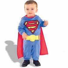 Boy Infant Halloween Costumes Superman Infant Halloween Costume Size 6 12 Months Walmart