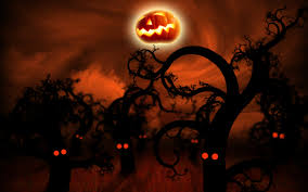 scary halloween background 7708