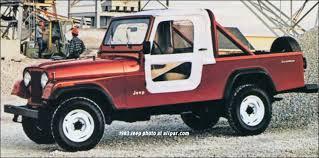 Jeep Bed Frame 1981 1985 Jeep Scrambler 4x4 Pickups