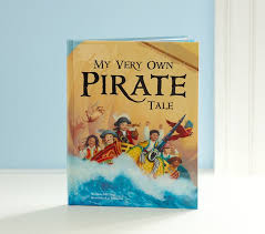 my own pirate tale personalized book pottery barn
