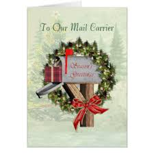 mail carrier greeting cards zazzle