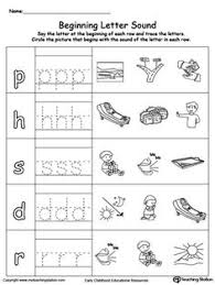 learning beginning letter sound t letter sounds printable